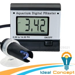 Wholesale Hydroponics Ph Meter - Wholesale- Mini Digital pH Meter Hydroponics Aquarium Swimming Pool Spa 0.00~14.00pH Range