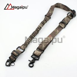 Wholesale Gun Sling Airsoft - Magaipu Popular Nylon Adjustable Two Point Tactical gun Sling Hunting Strap Mount Bugee System airsoft CS Game
