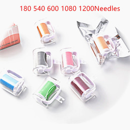Wholesale Derma Roller Replacement Heads - Microneedle Roller Interchangeable Heads Fit for 180 540 600 1080 1200 Needles Skin Nuring Derma Roller Replacement Heads Accessories