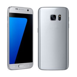 Wholesale Russian Frame - S7 Smartphone MTK6580 goophone quad core1GB ram 4GBrom Android goophone s7 Wifi 3g metal frame Cellphone DHL Free