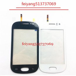 Wholesale Wholesale Galaxy Fame - 10pcs Replacement parts Original Touch Screen With Digitizer Front Glass For Samsung Galaxy Fame S6810 S6812