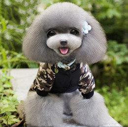 Wholesale Fbi T Shirts - Black FBI Dog Cat Hooded Sports Cheap Pet Coat Jacket Top Grade Pet Sweater 5 Size Min Order 25PCS