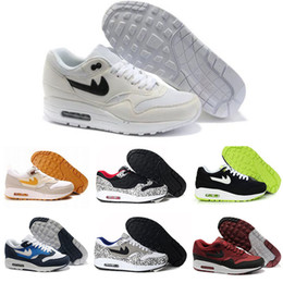 Wholesale Day Running Lights - Wholesale Maxes 87 Atmos Maxes Day Premium lunar 1 DELUXE Best Quality Men Women Size Running Shoes free shipping size 40-45