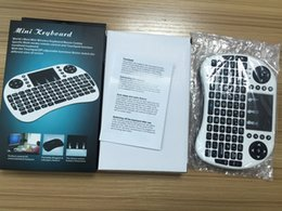Wholesale Air Wireless - Rii Air Mouse Wireless Handheld Keyboard Mini I8 2.4GHz Touchpad Remote Control For MX CS918 MXIII M8 TV BOX Game Play Tablet Mini PC