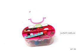 Wholesale Linen Fabric Sewing - Tuba Treasure Sewing Box Sewing Kit Sewing Articles Diy Tool Needle
