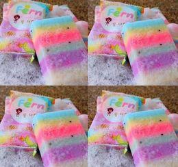 Wholesale Whitening Soap Sale - Brand New Arrivals OMO White Plus Soap Mix Color Plus Five Bleached White Skin 100% Gluta Rainbow Soap hot sale 2016
