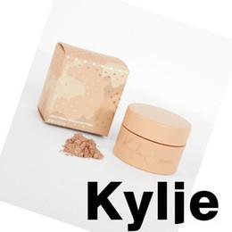 Wholesale Glow Power - Kylie Jenner Cosmetics Kylie Ultra Glow Highlighter Kylie Vacation Edition FIJI  SANTORINI  TAHITI 3 colors loose power DHL free ship