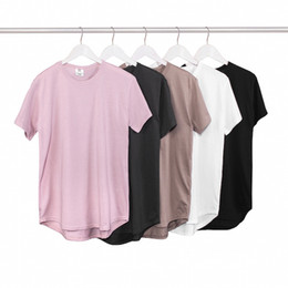 Wholesale Short Paragraph Fashion - Fear of god the same paragraph kanye circular hem Xia Justin Bieber GD Quan Zhilong wild T-shirt short-sleeved