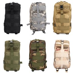 Wholesale Tactical Backpacks For Men - 6 Color Men Women Outdoor Tactical Backpack Military Army Trekking Sport Travel Rucksacks For Camping Hiking Traveling Climbing