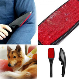 Wholesale Lint Dust Pet Hair Remover - Static Brush Clothes Magic Lint Dust Brush Pet Hair Remover Clothing Cloth Dry Cleaning with Rotatable Brush