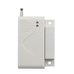 Wholesale Gsm Magnetic Door Security - CE wireless sensor drawer magnetic detector gsm home security alarm system door sensor for alarm host with battery