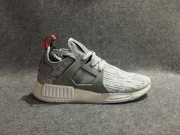 Wholesale Genuine Leather Skull - Drop Shipping Top Quality NMD XR1 Mastermind Japan Skull Men Women Olive green Glitch Black White Blue Camo Primek Running Shoes