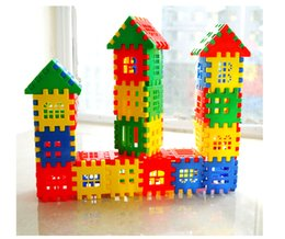 Wholesale Early Boxing - Children 's Puzzle Enlightenment Box Plastic Patchwork Wooden House Group Assembled Kindergarten Early Learning Toys