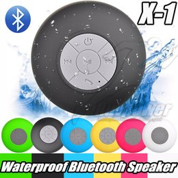 Wholesale Waterproof For Boat - Mini Bluetooth Speaker Waterproof Wirelesss IPX4 Hand-free Shower Speaker All Devices For Samsung S8 laptop Showers Bathroom Pool Boat Use