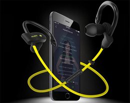 Wholesale Head Stereo Bluetooth - New S4 sports running bluetooth headset universal 4.0 4.1 hangers head-mounted ears large capacity battery perfect sound waterproof headset