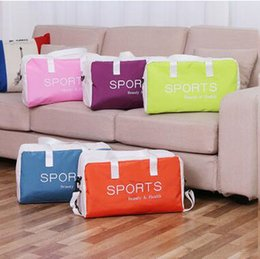 Wholesale Double Wet Bag - Summer Waterproof Swimming Bags Double Layer Pinky Color Fashion Sport Beach Shoulder Bags Dry and Wet Separation Handbags