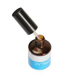 Wholesale Uv Gel Topcoat Acrylic Nail - Wholesale- 14ML UV Topcoat Top Coat Seal Glue Acrylic Nail Art Gel Polish Gloss Nails UV Glue Professional Nail UV Gel ETS88