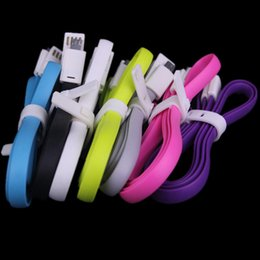 Wholesale Blackberry Magnet - 1M 3FT Magnet Micro V8 5Pin USB Data Sync Cable Magnetic Cables for samsung s3 s4 s6 s7 for htc lg for phone 5 6 6s 7 plus