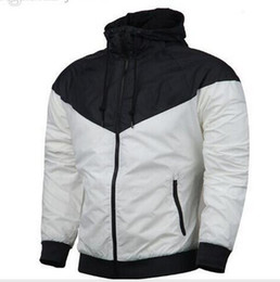 Wholesale Mens Jacket Trend - Hot Sale Men Sport Hip Hop Outdoor Waterproof Windbreaker Mens Womens Jacket Autumn Patchwork Reflective Jacket Men Kids Coat Trend Brand