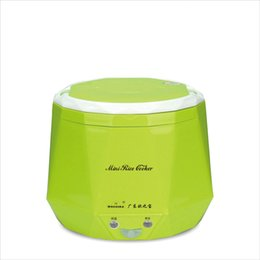 Wholesale Timer House - 1.3L Portable Electric Mini Rice Cooker Lunch Box Microwave Smart Multifunction Small Rice Cooker 220V for House 12V 24V for Car Truck