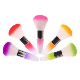 Wholesale Nail Dust Clean Brush - Nail Brushes For Acrylic UV Gel Nail Art Dust Cleaner Nail Dust Brushes Foundation Brush Makeup Brush