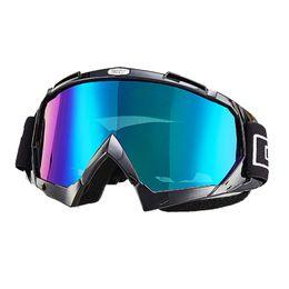 Wholesale Motorbike Goggles - New Arrival Motorbike Windproof Glasses Racing Goggles Dustproof Cycling Bicycle Bike Outdoor Motocross Googles Motorcycle Eyewear Goggle