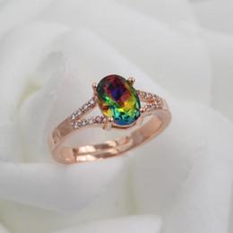 Wholesale Ring Silver Swarovski - 2017 New arrivel Rose Gold Plated SWAROVSKI Crystal ZC Rings For Women Fashion Luxury Jewelry Charm Zircon Ring