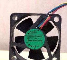 Adda 5v fans online-ADDA 3010 5V AG03005HX105B00 3CM 4wire ventilador de refrigeración