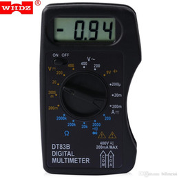 Wholesale Measure Dc Current - Digital Multimeter AC DC Tester Voltmeter Stable Performance with LCD Screen Measuring Current Resistance Diode Test New +B