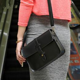Wholesale Korean Retro Pu Handbag - 2017 spring summer women Messenger bag Korean retro femal handbag shoulder small square crossbody bag