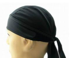 Bandana seca on-line-4 Cor Esportes Ao Ar Livre Quick Dry Cap Ciclismo Headscarf Headband Da Bicicleta Cap Men Equitação Bandana Chapéu Do Pirata