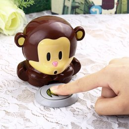 Wholesale Blow Monkey - Little Monkey Nail Dryer Tools Blowing the Monkey Nail Creative Utility polish air dryer No Plug-in Hot