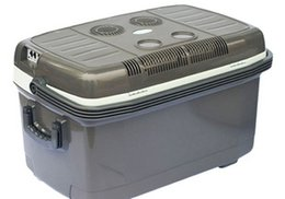 Wholesale Car Wells - Wholesale- Large outdoor 45L car refrigerator portable refrigerator dual refrigeration mini fridge and well-being