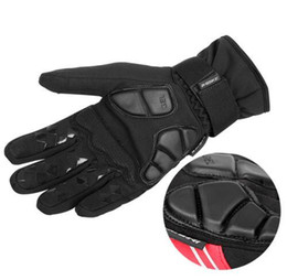 Wholesale Warm Gel - autumn and winter cycling gloves Touch Screen mtb road bicycle bike gloves sports warm full finger luva ciclismo GEL+EVA Palm