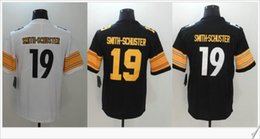 Wholesale College Style - New color rush style #19 JuJu Smith-Schuster American College Football Stitched Team Uniforms Shirts Embroidery Mens Sports Pro Team Jerseys