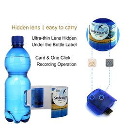 Wholesale Hidden Camera Water - Hidden Camera Water Bottle 1080P HD Spy Camera with Motion Detection Portable Plastic Drinking Water Bottle Hidden Spy Camera for Sercurity