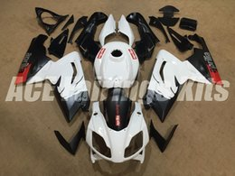 Wholesale Red Black Full Fairing Kit - New Injection Mold ABS Full bike fairing kits for aprilia RS125 2006-2011 RS 125 06 07 08 09 10 11 RS4+Tank cover bodywork red black white