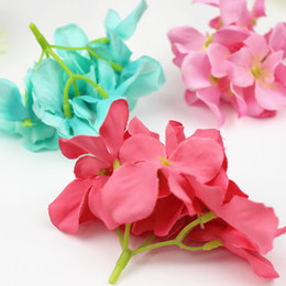 Wholesale Wedding Shoes For Bride Wholesale - Blooming Silk artificial Flower For Christmas Wedding Party Home Room Shoes Hats Decoration Marriage Head Flower Wholesale