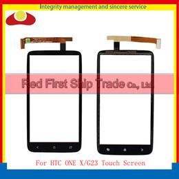 Wholesale G23 One - For HTC S728e G23 ONE X ONE X plus Front Digitizer Touch Screen Glass Lens Sensor Repair Replacement Parts