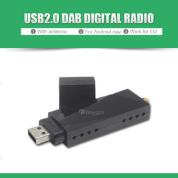 Wholesale Usb Dongle For Android - USB Car DAB DAB+ Digital Audio Broadcasting Radio Dongle Tuner Receiver stick for All Android 4.2 5.1 6.0 car dvd player