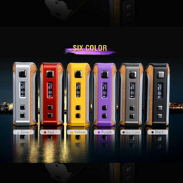 Wholesale Power Systems - 100% Original Pioneer4you IPV Velas 120W TC Box Mod Seven Color LED Strip Powered by the YiHi SX410 Chip Visual Operating System 2207052