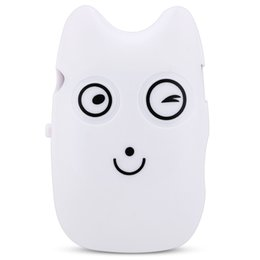 Wholesale Cute Mini Watch - Wholesale- Cute Style Mini Portable USB2.0 Cartoon Pattern Touch Tone MP3 Player with 3.5mm Earphone Plug Support 32G TF Card(not included)