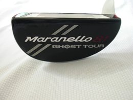 Wholesale Ghost Clubs - Brand New Golf Clubs Ghost Tour Maranello-81 Putter Golf Putter 33 34 35 Inch Steel Shaft With Head Cover