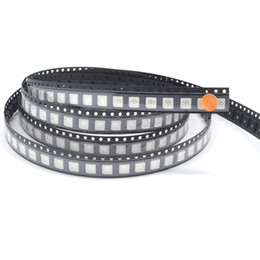 Wholesale Plcc Led - Wholesale- 100pcs 5050 orange amber smd smt plcc-6 3-chips ultra bright light emitting high quality Led diodes wholesale new