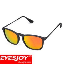 Wholesale Square Black Glass Plates - Modern Day Fashion Women Sunglasses for Men Pilot Sunglasses Metal Plate Matte Frame (Size:54-18mm) UV400 Polarized Lens With Glasses Box