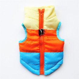 Wholesale Harness Jacket - Small Pet Dog Soft Padded Vest Harness Puppy Doggy Warm Clothes Coat dog clothes