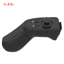Wholesale Game Player 3d - Wholesale- Portable Bluetooth Wireless VR Box Remote Control Gamepad 3D VR Glasses Smart Mobile Phone Universal Mini Game Controller