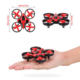 Wholesale New Original NIHUI NH G CH Axis Gyro RC Quadcopter RTF UFO Mini Drone with D Flip Headless Mode with extra Batteries