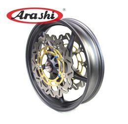 Wholesale Yamaha R6 Front - Arashi YZF R1 R6 Wheel Rims Set For YZF R6 YZF R1 2006-2012 Front Wheel Rim & Front Brake Disc 2006 2007 2008 2009 2010 2011 2012