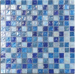 Wholesale Crystal Glass Tiles Wholesale - Waterproof Colored glaze Surface Glass Mosaic Wall Tile,Kitchen Backsplash Tiles,rainbow crystal bathroom mosaic tile,colors optional,LSLL01